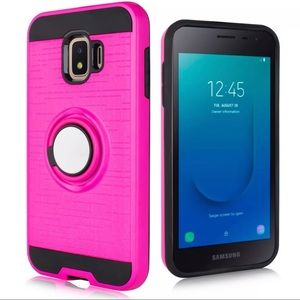 Samsung j2 Core Ring Stand Case